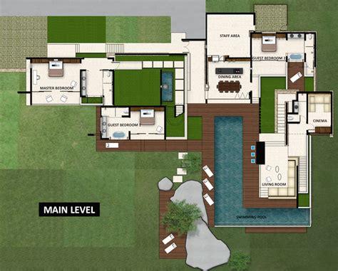 floor plans villa hin samui