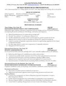 hr professional resume objective human resources resume objective resume badak
