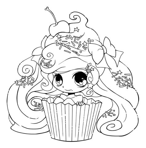 Chibi Girl Coloring Pages K5 Worksheets in 2020