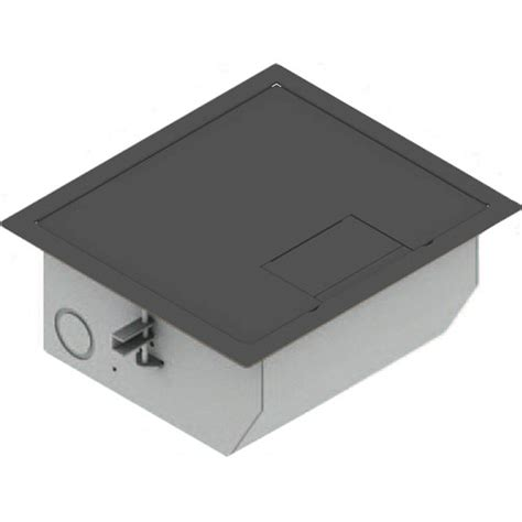 fsr 700 floor box fsr rfl qav slgry raised access floor box gray rfl qav slgry