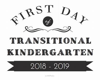 Sign Kindergarten Transitional Printable Allfreeprintable 2021