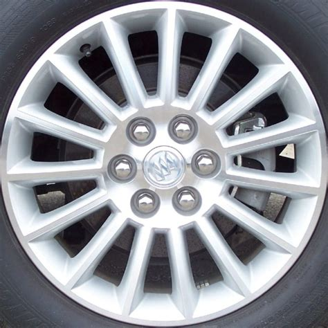 buick enclave  oem alloy wheels midwest wheel tire