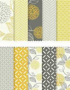 muster tapete wohnzimmer grau mit gelb raum und With balkon teppich mit gelbe tapete