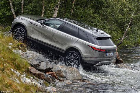range rover velar review  drive   luxury
