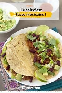 Recette Tacos Mexicain : tacos mexicains recette en 2019 cuisine du monde ~ Farleysfitness.com Idées de Décoration