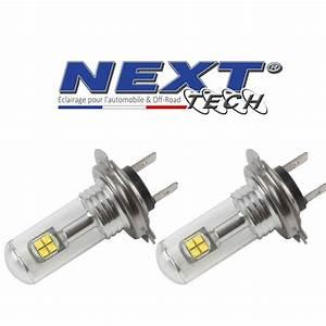 Ampoule Led Auto : ampoules led h7 40w puissante blanc next tech ~ Voncanada.com Idées de Décoration