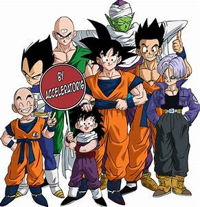 Download Dragon Ball Z Characters Photos HQ PNG Image