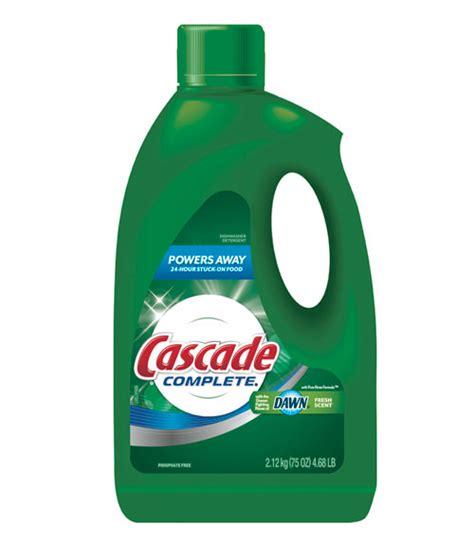 dish soap in dishwasher cascade complete dishwasher detergent gel review