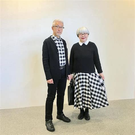 couple wear matching outfits  day married