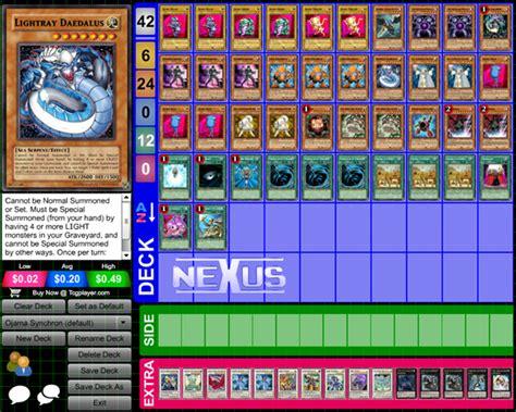 ojama deck yu gi oh synchron nexus dueling um conseguiu criado rapido la bater jogador frente pra
