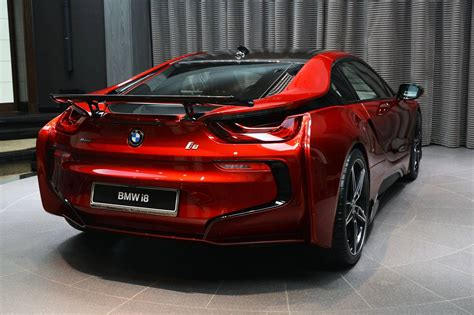 1 Of 1 Lava Red Bmw I8 Built For Princess Al Hawi In Abu