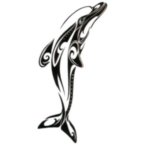 tribal dolphin temporary tattoos