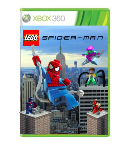 Best buy customers often prefer the following products when searching for lego xbox 360 games. LEGO Spiderman Xbox 360 Box Art Cover by jgeter712
