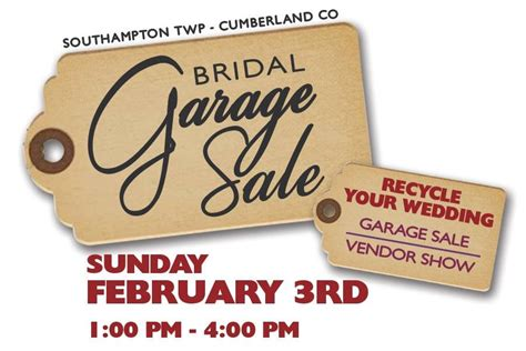 bridal garage sale shippensburg ship saves