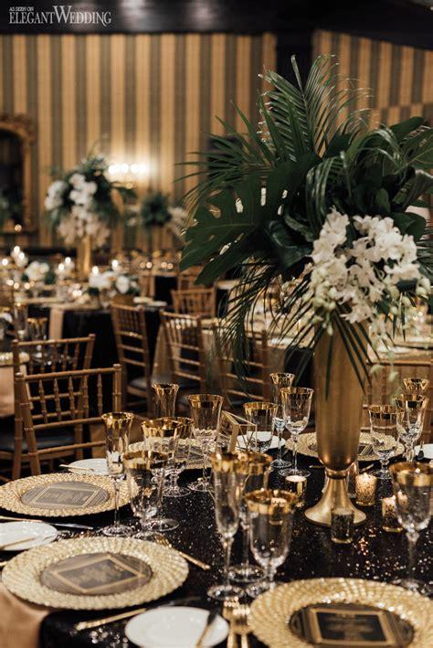 hollywood meets great gatsby wedding