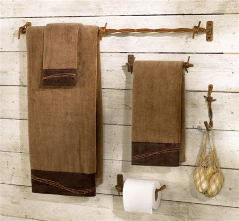 Rustic Bathroom Hardware Sets by Rustic Bath Accessories The Stylish Cabin