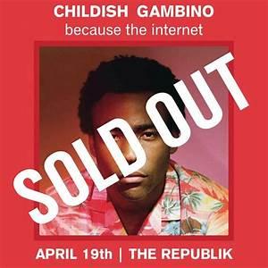 Childish Gambino Tickets - The Republik on April 19 2014 ...
