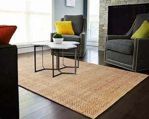 Le tapis jonc de mer pour le salon classique en 60 belles for Tapis jonc de mer avec canapé convertible style nordique