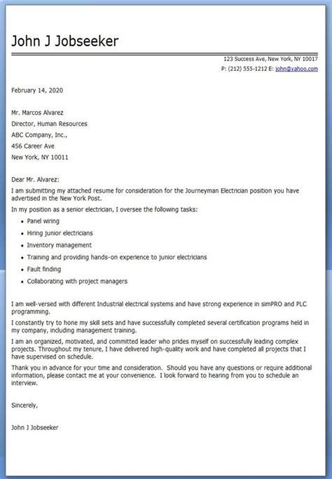 20302 journeyman electrician resume exles journeyman electrician cover letter exles creative