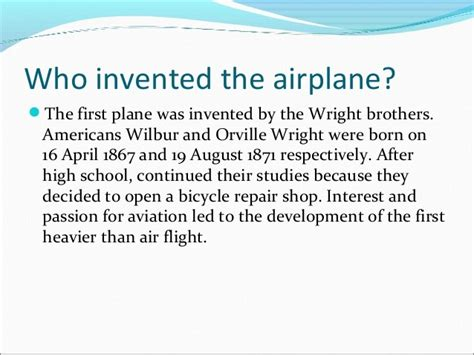 who invented the l lesson 110 who invented the aeroplane foila curur