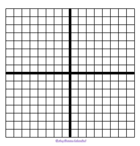 Blank Coordinate Planes  Reproducible  My Math Resources