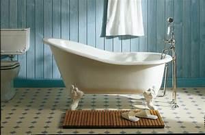Petite Baignoire Retro : choisir sa baignoire inspiration bain ~ Edinachiropracticcenter.com Idées de Décoration