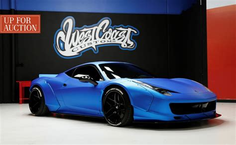 Justin bieber put on an awesome show with his ferrari but he did it in front of a cop and ended up getting busted for itsubscribe. Justin Bieber's Lost Blue Ferrari is Up for Auction | Ferrari 458, Liberty walk ferrari, Ferrari ...