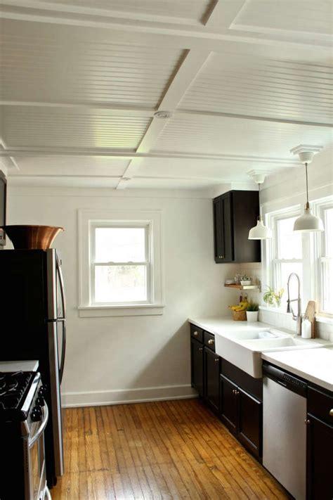 rehab diaries diy beadboard ceilings