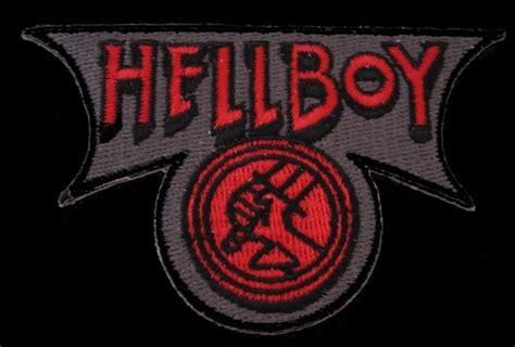 hellboy logo patch