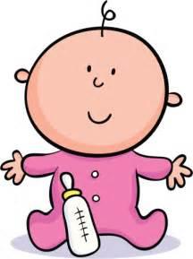 Pink Baby Bottle Cartoon