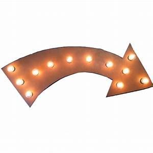 Universal Iron Lighted Arrow Sign - MLARROW