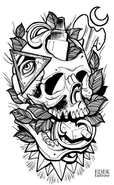 by Adrian Edek | Tattoo Flash | Pinterest | Tattoo, Tattoo