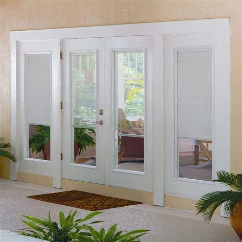 exterior door with blinds true of lordship doors lordship windows