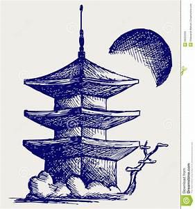 Buddhist Zen Temple Royalty Free Stock Image - Image: 28253456