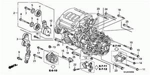2005 Honda Odyssey Engine Parts Diagram