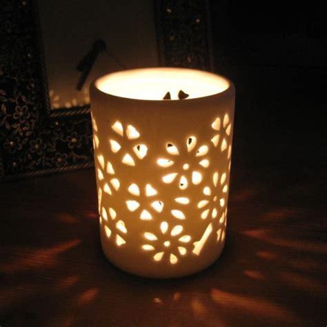 ceramic candle holders ceramic pierced tealight holders