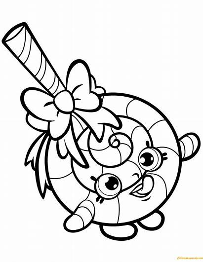 Shopkin Lolli Pages Poppins Coloring Season
