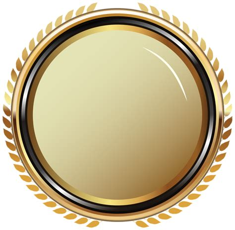 Badge Png by Gold Oval Badge Transparent Png Clip Image Gallery