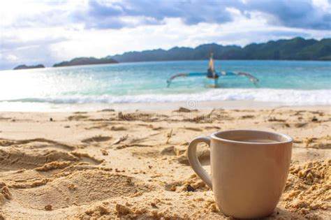 Morning Coffee At The Beach Stock Photo Best-coffee-grinders-equipment Aeropress Coffee Instructions Youtube Walmart Return Policy For Makers Grinders Best Of Weed Grinder Fishing Reel Single Dosing Camping