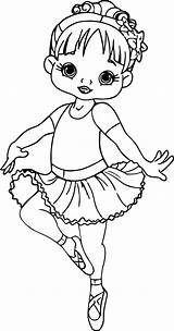 Cartoon Ballerina Coloring Pages Dance Cute Nice Toddler Princess Baby Sketch Ballet Little Books Boys Ausmalen Movie Para Wecoloringpage Movies sketch template