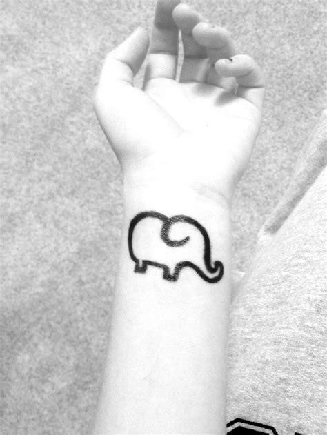 Good Luck Symbols Tattoos Designs Elephant Tattoo Good