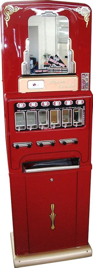 Vintage Retro Stoner Jr Candy Machine Bars and Booths