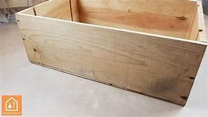 Caisse En Bois à Donner : fabriquer une niche pour chat avec une caisse en bois ~ Louise-bijoux.com Idées de Décoration