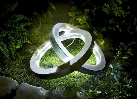 Garten Deko Leuchten by Solar Leuchte Quot Ringe Leuchtende Dekoration Brigitte