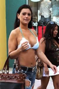 jwoww   bikini top  miami  gotceleb