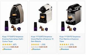 Machine Nespresso Promo : machine caf nespresso en promotion sur amazon le bon plan ~ Dode.kayakingforconservation.com Idées de Décoration
