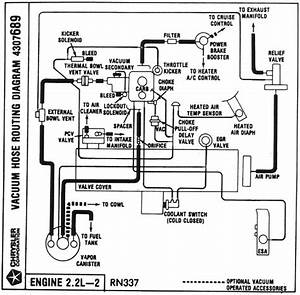 Vacuum Hose Routing Diagrams
