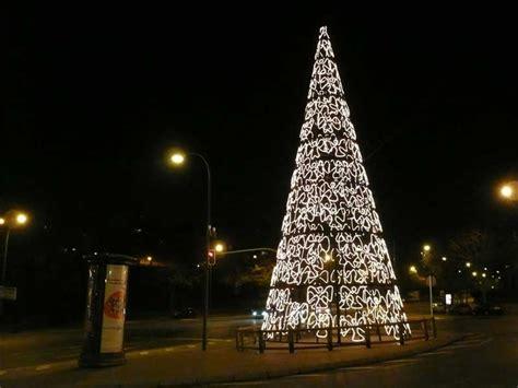 arbol albufera navidad 2007 en madrid fotos de navidad