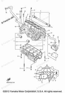 Yamaha Snowmobile 2007 Oem Parts Diagram For Crankcase