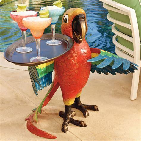 Drink Serving Parrot Butler   The Green Head